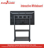 98インチのOPSのパソコンの組み込みの対話型のタッチ画面が付いている対話型のWhiteboard LCDの表示