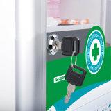 휴대용 손잡이를 가진 유리제 문 알루미늄 응급조치 상자