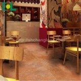 商業建物、ISO9001 Changlong Cls-05のための木製の表面PVCビニールのフロアーリング