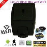 Novo 2.0Inch o Full HD1080p Carro Dash Caixa Preta com WiFi para telemóvel, 5.0Mega Sony Car DVR, câmara de automóvel de visão nocturna