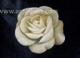 Реалистичные белый цветок картины маслом для интерьера