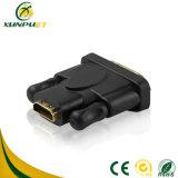 Par trenzado Female-Male adaptador HDMI Convertidor de alimentación de datos