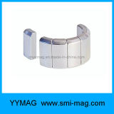 Arc NdFeB Magnet Permanent Magnet Motor Wind Generator