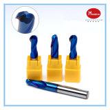 65 faca R1-R10 do moinho de esfera da liga do tungstênio do aço inoxidável do CNC do CNC da lâmina do cortador de trituração 2 do grau