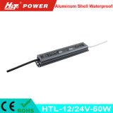 20W에서 250W에 12/24V는 LED 전력 공급 Htl 시리즈를 방수 처리한다