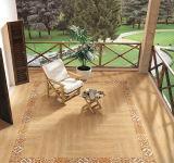 Azulejo de suelo de cerámica de madera de la naturaleza antideslizante de 150*800m m para el hotel
