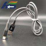 Микро хлопка экранирующая оплетка кабеля USB и кабель для быстрой зарядки iPhone и Android
