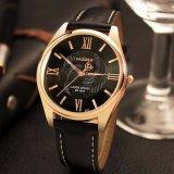 Z370 Waterdichte Horloge van het Analogon van het Kwarts van de Manier van Mens het Unieke met de Rug van het Roestvrij staal