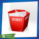 Reciclado de color personalizada Snack tolva de descarga de cartón corrugado/bin/Mostrar bandeja de cartón