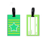 Preiswertes kundenspezifisches Firmenzeichen-Plastikgepäck-Marke Kurbelgehäuse-Belüftung, weiche Belüftung-Gepäck-Marke