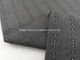 Verificación teñida Fabric-Lz7698 del Dobby del hilo de algodón