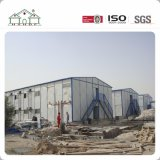 Décoration meilleur marché avec Ceilding et Chambre préfabriquée de camp de construction de construction de structure métallique de plancher