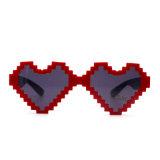 Óculos de sol 2017 da forma da forma do coração