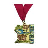 Kundenspezifische Qualitäts-Zink-Legierung Druckguss-Sport-Trophäe-Medaillen