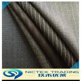 Tissu de laine tissé barathea, de la laine polyester Tissu mélangé