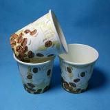 Tazza di carta stampata abitudine di prezzi del nuovo caffè caldo a gettare poco costoso di disegno