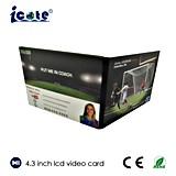 4.3 Zoll LCD-Monitor-Videokarte für Fußball