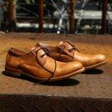 Parte superior de cuero de ante la conducción de los hombres zapatos casuales