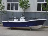 Liya el 19FT barco de la pesca en alta mar del barco de la fibra de vidrio del ocio de la familia de 8 personas