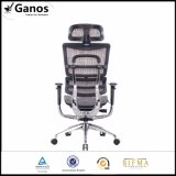 Mesh Back Leather Seat Boss Office Flesh with Back Support for Conceited People