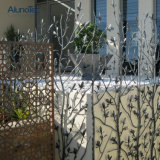 La pantalla de aluminio del metal perforó diseño del panel