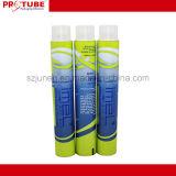Tubi pieghevoli di alluminio variopinti per la crema di colore/mano dei capelli