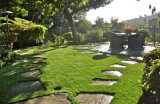 인공적인 잔디 조경 잔디