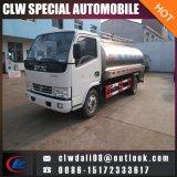 작은 우유 유조 트럭, 신선한 우유 수송, 판매를 위한 우유 탱크를 위한 4*2 유조 트럭