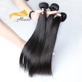 Extensão frouxa brasileira do cabelo da onda da extensão não processada do cabelo do Virgin