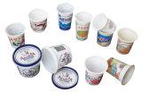 Automatischer Plastikjoghurt höhlt Offsetdrucken-Maschine