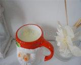 Velas perfumadas de la cera de la soja en tarro de cerámica de la vela