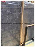 カウンタートップのための中国Hermesの灰色の大理石の平板および静脈が付いているタイル