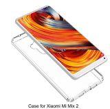 Xiaomi Miの組合せ2のケースのXiaomi Miの組合せ2のための超薄い透過柔らかいゲルTPUのシリコーンの箱カバー