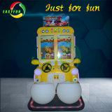 Simulatore della vettura da corsa di raduno di velocità dei 2 giocatori piccolo per i bambini