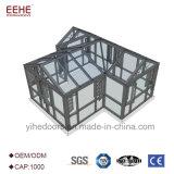 Casa de vidro de alumínio do wintergarden do quarto com jogo do Sunroom