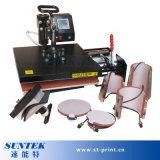 Impresora plana de múltiples funciones de la prensa del calor Stm-M05c