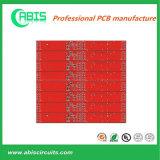 Доска PCB красной маски Soder разнослоистая