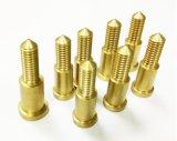 Componente fazendo à máquina do cobre da precisão da peça do CNC do bronze