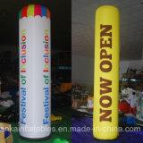 Drucken-moderne riesige aufblasbare Pfosten-Spalte Nylon Belüftung-Digital