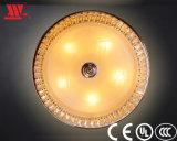 Moderne bereiftes Glas-Decken-Lampe mit Kristall kleidete an