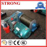 Elevación eléctrica del torno y del torno de la construcción