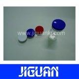 Entrega rápida impreso personalizado brillante Resistente al agua 10ml frasco de holograma de verificación