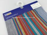 Покрашенная хлопчатобумажной пряжей ткань нашивки Slub для Shirt-Lz7711
