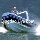 Liya 17pies botes inflables rígido Rib barco de lujo aprobado CE