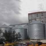 Плоский низ черной металлургии в бункере для зерна