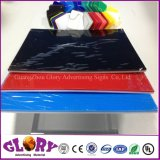 옥외 전시를 위한 투명한 플라스틱 플렉시 유리 던지기 PMMA 아크릴 장