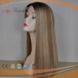 Vierge brésilien Sheitel Lace Front perruque de cheveux (PPG-L-0289)
