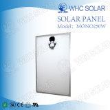 Mono comitato solare cristallino di alta qualità 250W