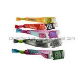 De de Geweven Manchet NFC/Armband van de Kaartjes 13.56MHz van de Gebeurtenis van het Festival van de muziek RFID
