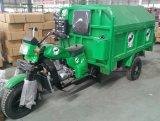 中国のごみ収集車、3つの荷車引き、2000kgローディング